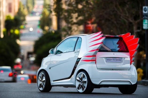 Smart forjeremy – A Smart Car X Jeremy Scott Collab